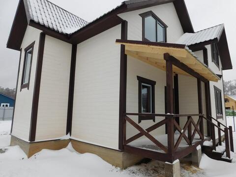 Новый дом из бруса в Белоусово, 145 мкв , 8 соток, Киевское или Калужс
