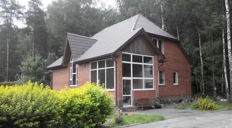 Дом в окружении леса