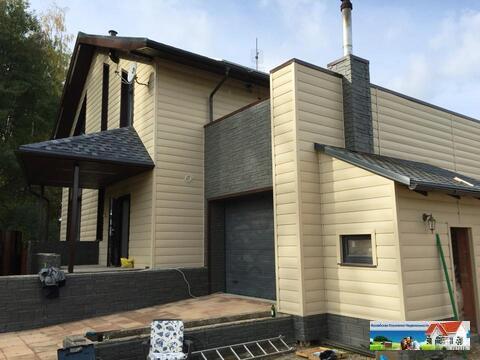 Современный трехуровневый коттедж, 350 кв.м.