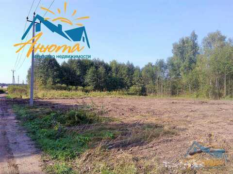 Большой участок в деревне Черная грязь Калужской области