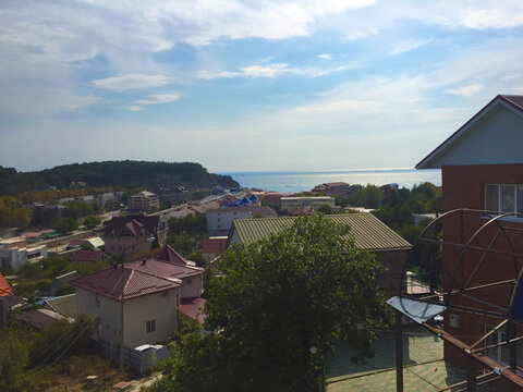 Вид на море Ольгинка