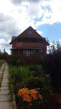 Уютный дом в 4 км от Дубны, баня, гараж, река Волга