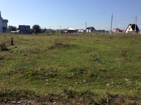 Продам земельный участок в п. Березово