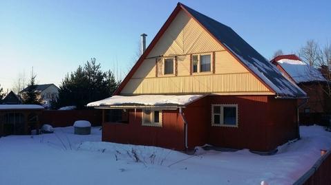 Благоустроенный и добротный дом 80 кв.м близ п.Правдинский, 25 км по .