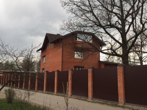 Кирпичный дом 520 кв.м с Троицкое Чеховский р-н, 35 км от МКАД