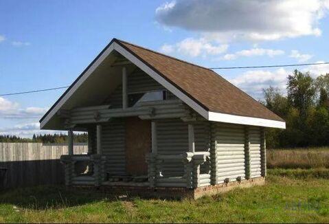 Дом 220 кв.м из оцилиндрованного бревна на участке 15 соток в 15 км от .