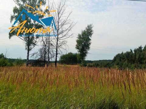 Участок 14 соток у леса в деревне Черная Грязь.