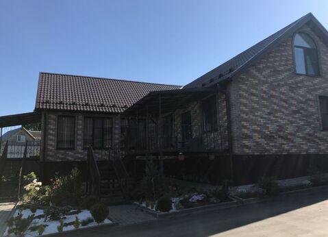 Большой дом с баней и гаражом в 95 км от МКАД