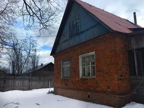 Участок 11 соток с домом в г. Голицыно, ул. Дорожная