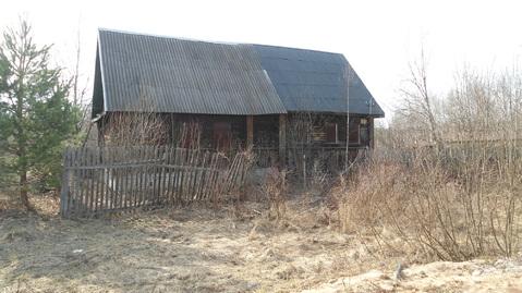 Продается бревенчатый дом в д.Зеленцыно Александровский р-он