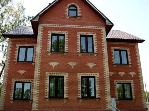 Дом 280 кв.м. на участке 25 соток в д. Красные Холмы Чеховского района