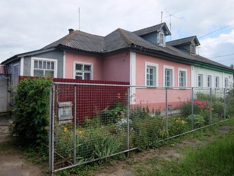 Участок 10 сот. с домом в г.Коломна, ул. Белинского, центр, все коммун.