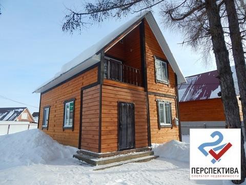 Лот № 635 с. Иглино Двухэтажный дом из бруса общей площадью 100 кв.м,