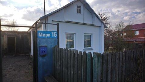 Продам дом в пос.Береговой 20 км.от Челябинска