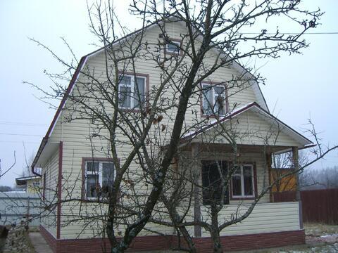 Дом 120 кв.м, Участок 6 сот. , Новорижское ш, 35 км. от МКАД.
