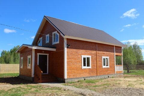 Ивановское. Новый дом в деревне рядом с лесом. Газ. 84 км от МКАД (Яро