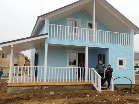 Дом Дача для большой семьи дом из бруса 150 мм «под ключ» Киевское ш