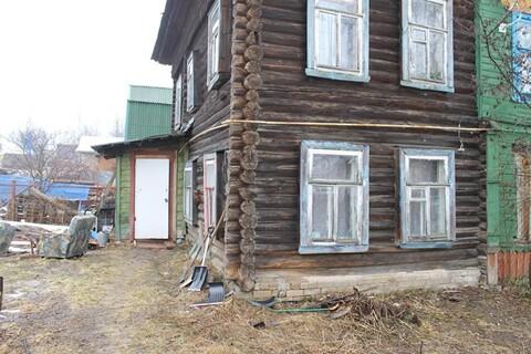 Продаю половину дома, участок 7.8 сотки в г. Кимры, ул. Фрунзе.