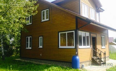 Теплый дом из бруса 130 кв.м. на участке 8 соток в обжитом .