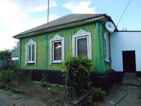 Дом в центре поселка Ракитное Белгородской области.