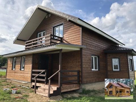 Дом деревянный новый большой 15 соток по калужское варшавское шоссе