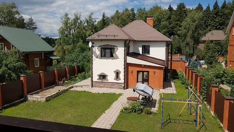 Стильный качественный меблированный дом в Одинцовском районе.