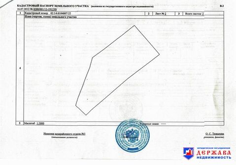 Продажа участка, Черемичкино, Топкинский район