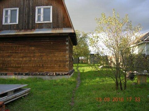 Недостроенный дом в д. Барыбино