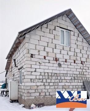 Дом 85 кв.м. из пеноблока на участке 10 соток в Маклино