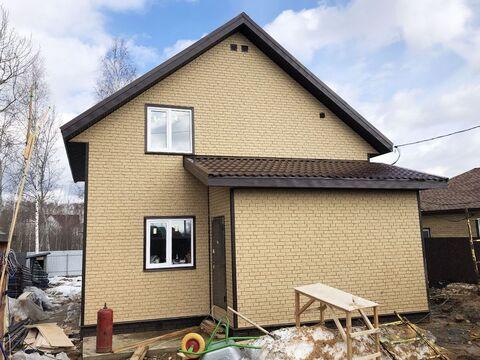 Новый двухуровневый дом площадью 105 кв.м.