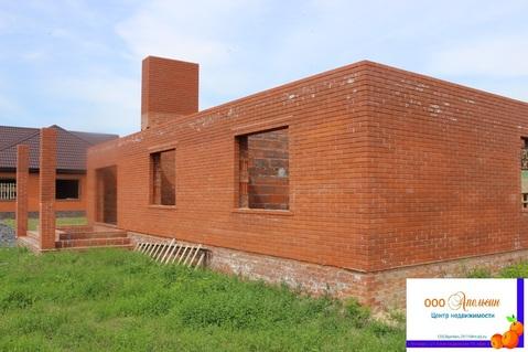 Продается недостроенный 1-этажный дом, Новобессергеневка