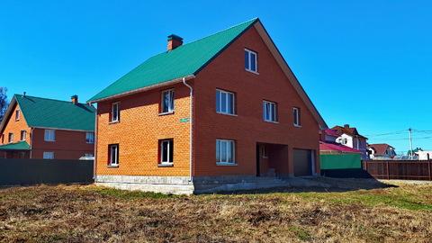 Капитальный дом с коммуникациями под ключ, п.Заокский, 100км от МКАД