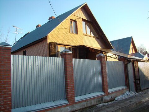 Дом 270 кв.м, Участок 6 сот. , Ярославское ш, 25 км. от МКАД.