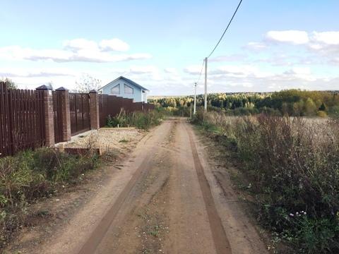 Участок 7 соток, д.Сазонки, 40 км. от МКАД по Дмитровскому шоссе,