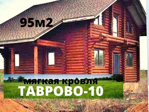 Продажа деревянного дома 95 м2 под отделку в Таврово-10.