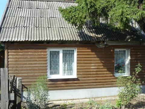 Пол дома с участком земли в д. Новая Мельница Новгородского района