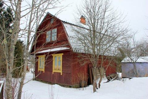 Отличный бревенчатый дом 79 м2 на участке 8 соток в массиве Мшинская