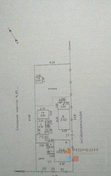 Дом 60 м на участке 6.5 сот.