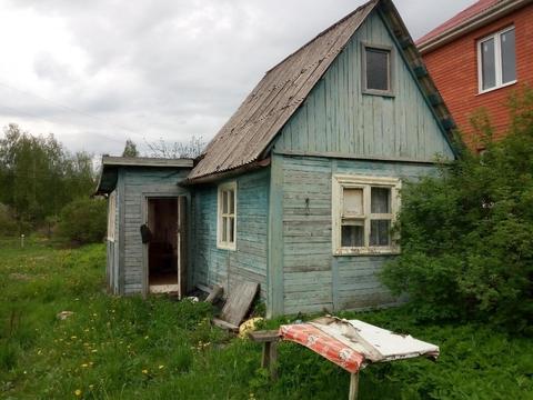 Дом 35 кв.м, Участок 10 сот. , Ленинградское ш, 48 км. от МКАД.