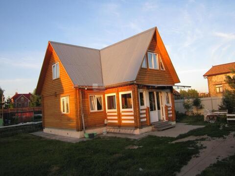 Дом 100 кв.м, Участок 9 сот. , Новорязанское ш, 14 км. от МКАД.