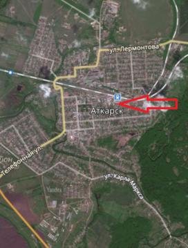 Земельный участок в центре Аткарска