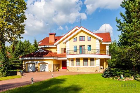 Красивый дом, в классическом стиле, 628 кв.м, полностью готовый к .
