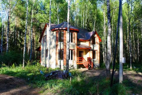 Дом в сосновом лесу ИЖС.