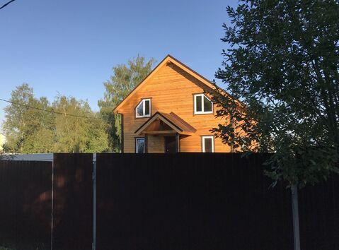 Новый дом с участком в д. Лизуново