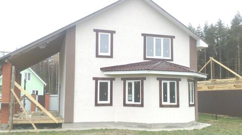 Новый дом на 10 сотках, близ д. Переславичи, Сергиево-Посадский р-н.