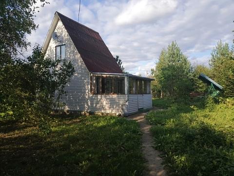 Участок 656 кв.м. с домом в д. Белозерово, СНТ