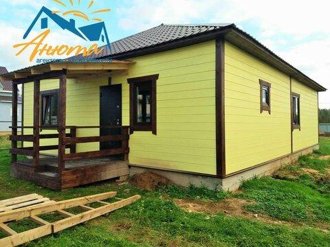 Продаётся одноэтажный деревянный дом в деревне около города Белоусово.