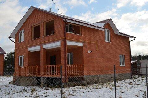 2х этажный кирпичный Дом 200м2 д. Шубинка, газ, 5км до г Малоярославец
