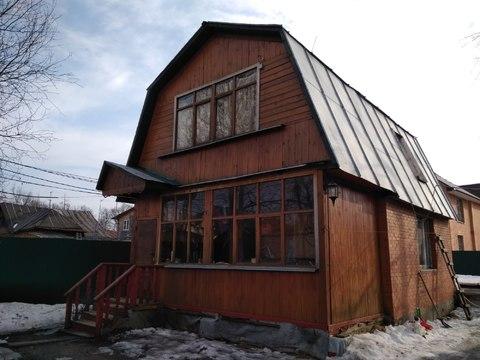 Кирпичный домик в Салтыковке