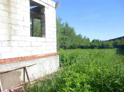 Недостроенный дом с участком в Можайске.
